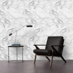 Faux Marble Wallcovering.  We design and print all of our wallpapers!
